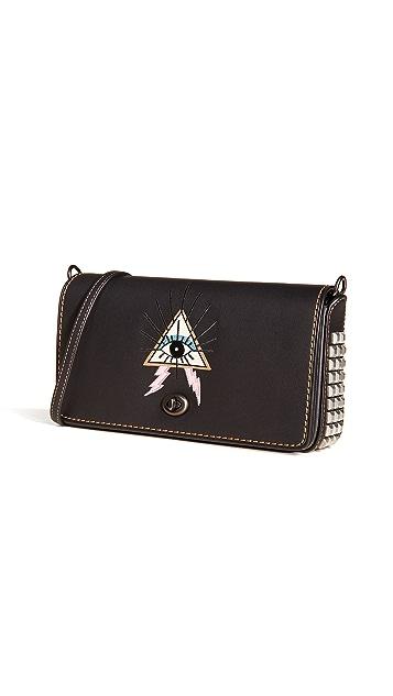 Coach 1941 Pyramid Eye Dinky Crossbody Bag