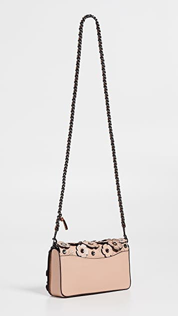 Coach 1941 Crystal Tea Rose Dinky Crossbody Bag