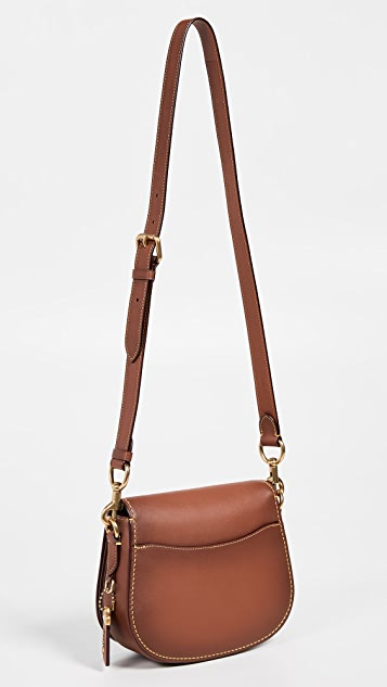 Coach 1941 Glovetanned Leather Saddle Bag