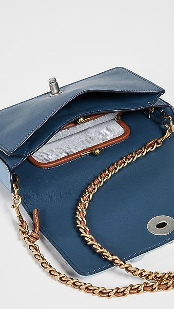 Coach 1941 Denim Tea Rose Dinky Bag