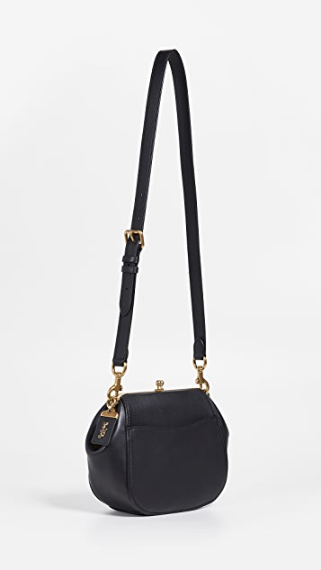 Coach 1941 Glovetanned Frame Saddle Bag