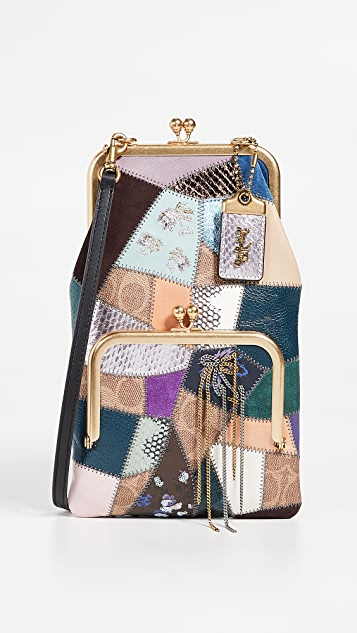 Coach 1941 Patchwork Double Frame Crossbody Bag