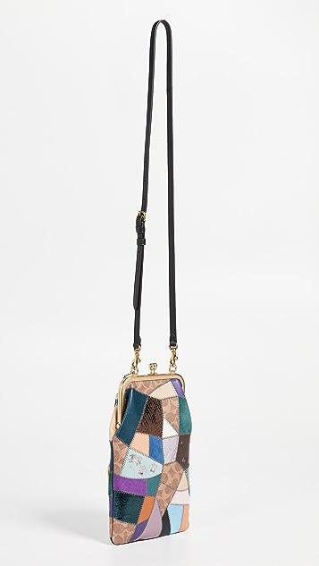 Coach 1941 Patchwork Double Frame Crossbody Bag