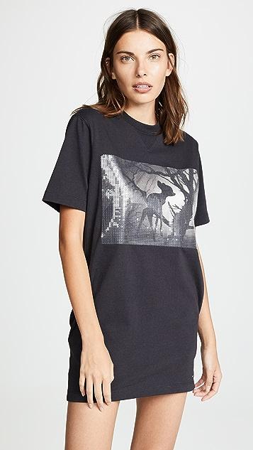 Coach 1941 x Disney Bambi Sweatshirt Dress