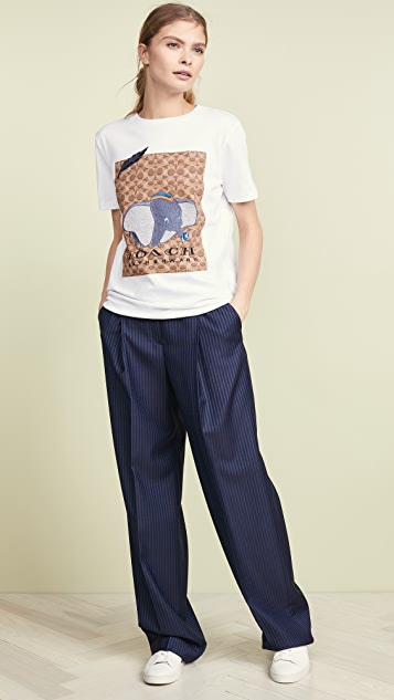 4b863d55dc17b Coach 1941 x Disney Dumbo Signature T-Shirt | SHOPBOP