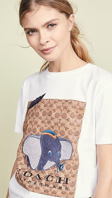 Coach 1941 x Disney Dumbo Signature T-Shirt