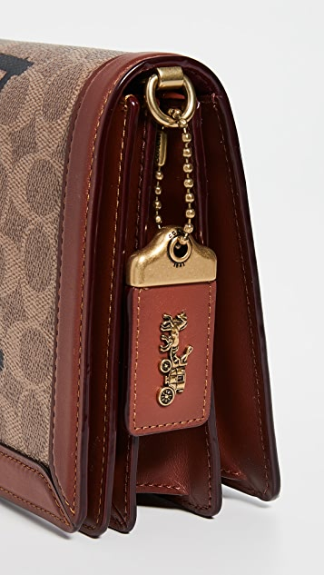 Coach 1941 Signature Rexy by Guang Yu Riley Crossbody