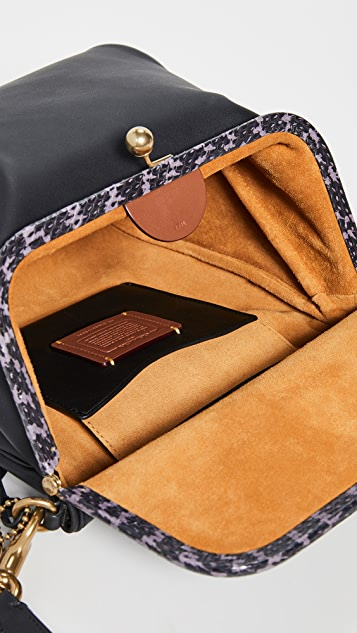 Coach 1941 Exotic Details Rider Bag 24