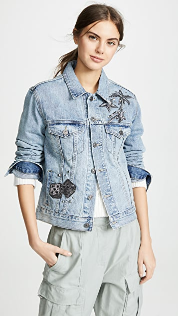 Coach 1941 Embellished Denim Jacket