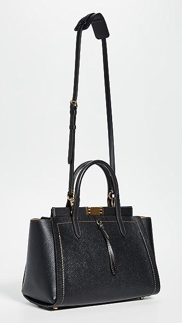 Coach 1941 手套鞣革条扣旅行手提袋
