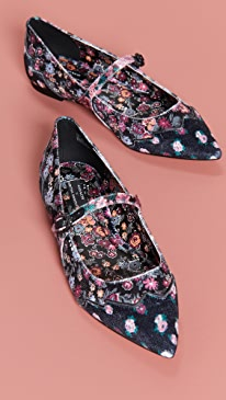 x Tabitha Simmons Harriette Mary Jane Flats