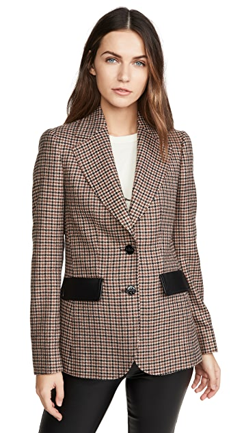 Coach 1941 Check Blazer