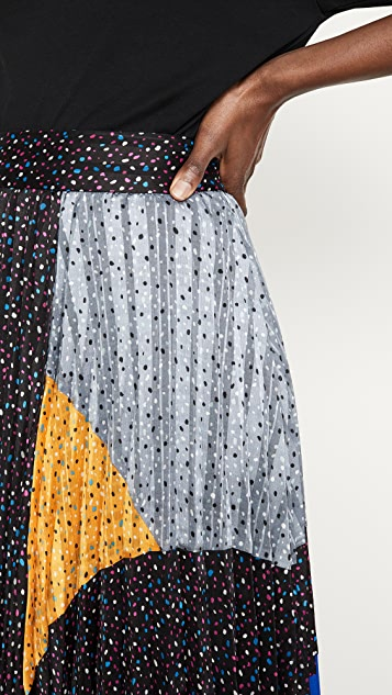 Coach 1941 Mix Pleated Skirt