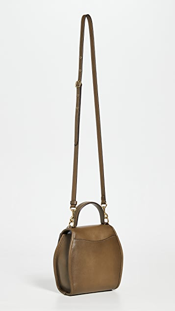 Coach 1941 Turnlock Curved Top Handle Handbag