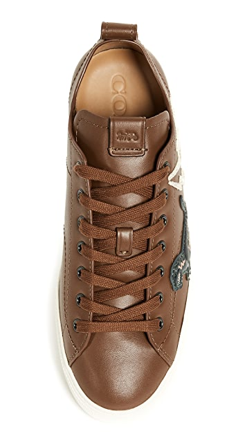 Coach New York Rexy Patched C121 Low Top Sneakers