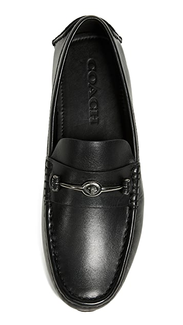 Coach New York Crosby Turnlock Driver Shoes