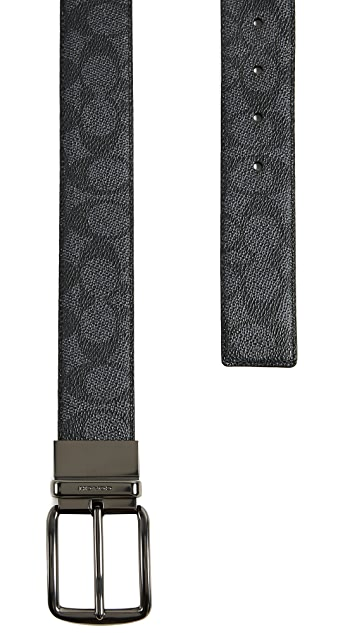 Coach New York Wide Harness Belt