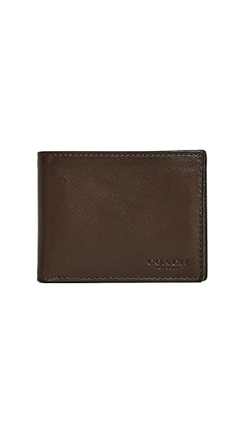 Coach New York Slim Billfold