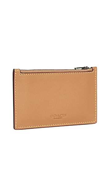 Coach New York Zip Card Case