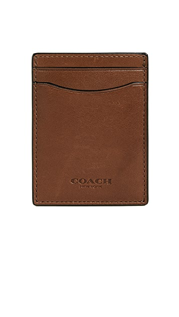 Coach New York 3-in-1 Card Case