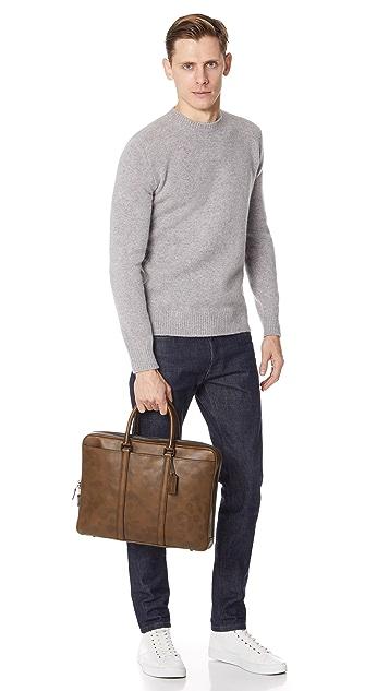 Coach New York Metro Slim Briefcase
