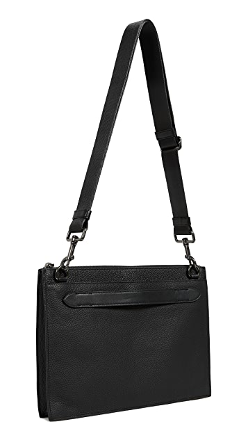 Coach New York Manhattan Convertible Slim Messenger Bag
