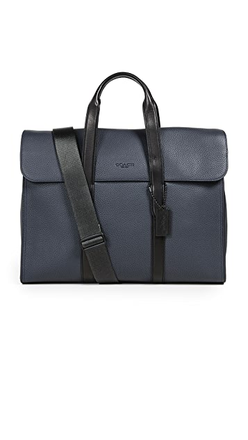 Coach New York Harness Metropolitan Portfolio Briefcase