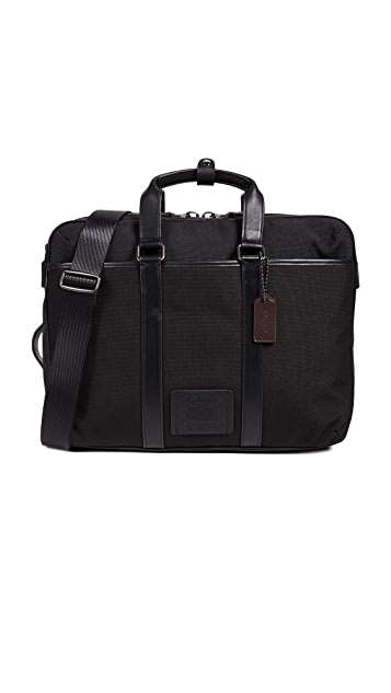 Coach New York Metropolitan Convertible Briefcase