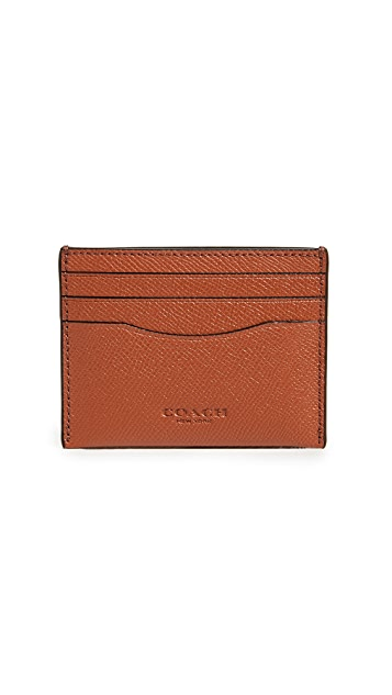 Coach New York Saffiano Card Case