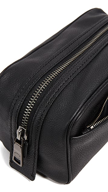 Coach New York Dopp Kit in Pebbled Leather