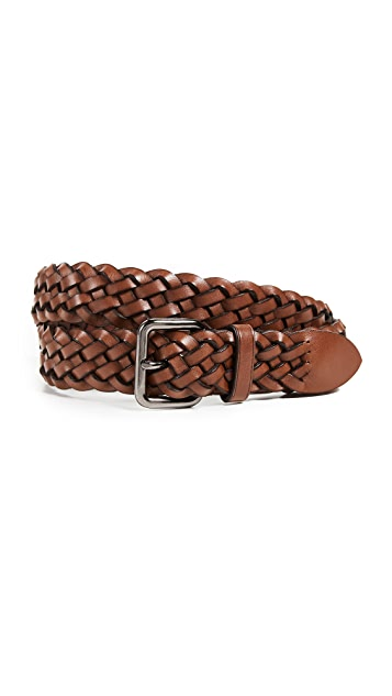 Coach New York 32mm Woven Belt