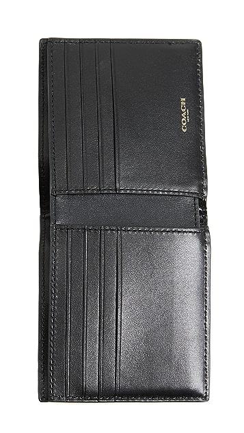 Coach New York Double Billfold Wallet