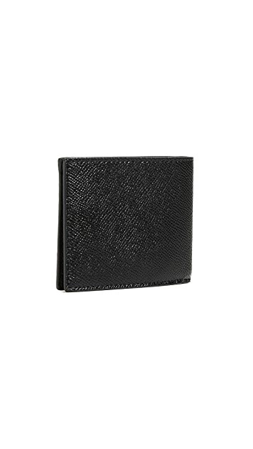 Coach New York Cross Grain Slim Billfold