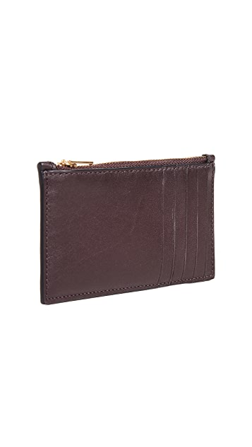 Coach New York Zip Card Case