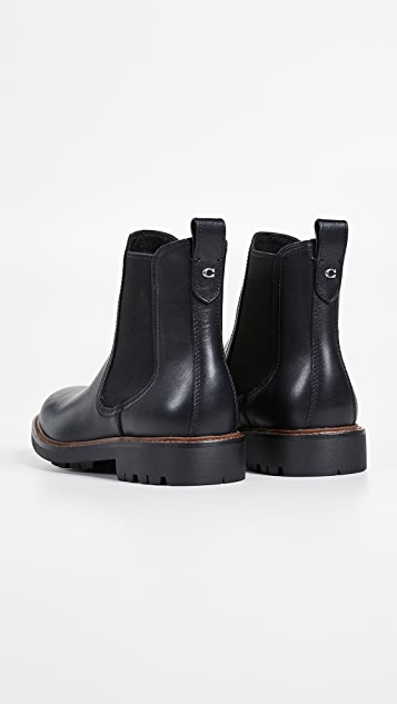 Coach New York Lugg Chelsea Boots