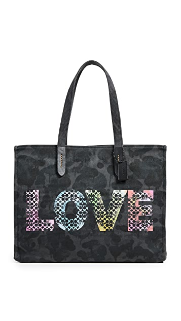 Coach New York x Jason Naylor Love Tote