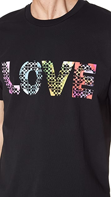 Coach New York x Jason Naylor Love Tee