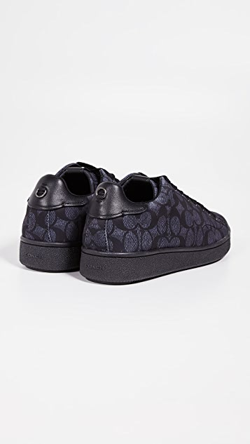 Coach New York C101 Signature C Low Top Sneakers