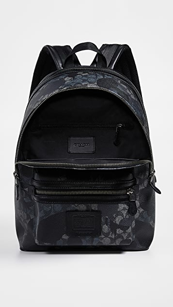 Coach New York Academy Backpack In Signature Wild Beast Print
