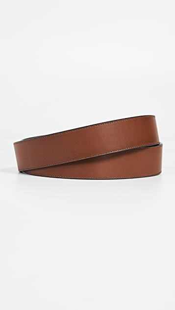 Coach New York 38mm Burnished Leather Belt