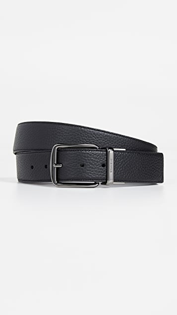 Coach New York Wide Leather Belt