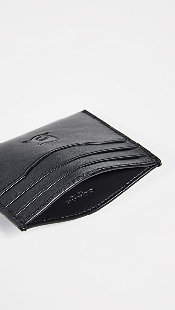 Coach New York Boxed Leather Card Case