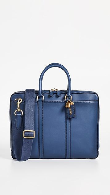 Coach New York Metropolitan Slim Briefcase
