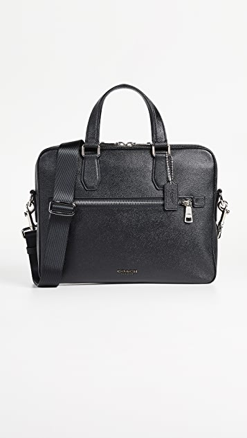 Coach New York Kennedy Briefcase
