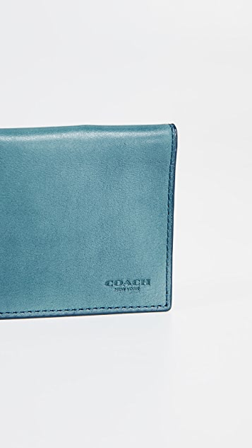 Coach New York Trifold Card Wallet