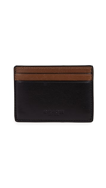Coach New York Money Clip Card Case
