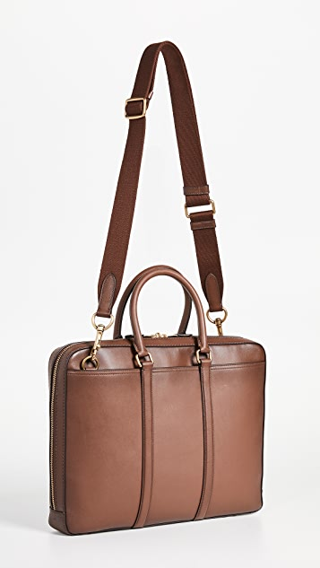 Coach New York Metropolitan Slim Brief