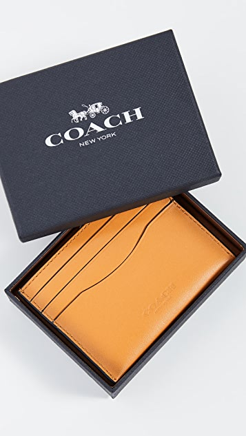 Coach New York Boxed Card Case