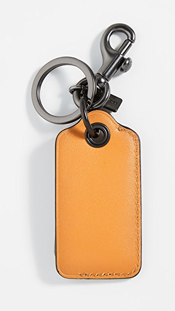 Coach New York Boxed Bottle Opener in Leather