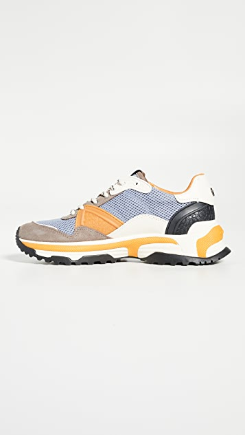 Coach New York C143 Colorblocked Runner Sneakers